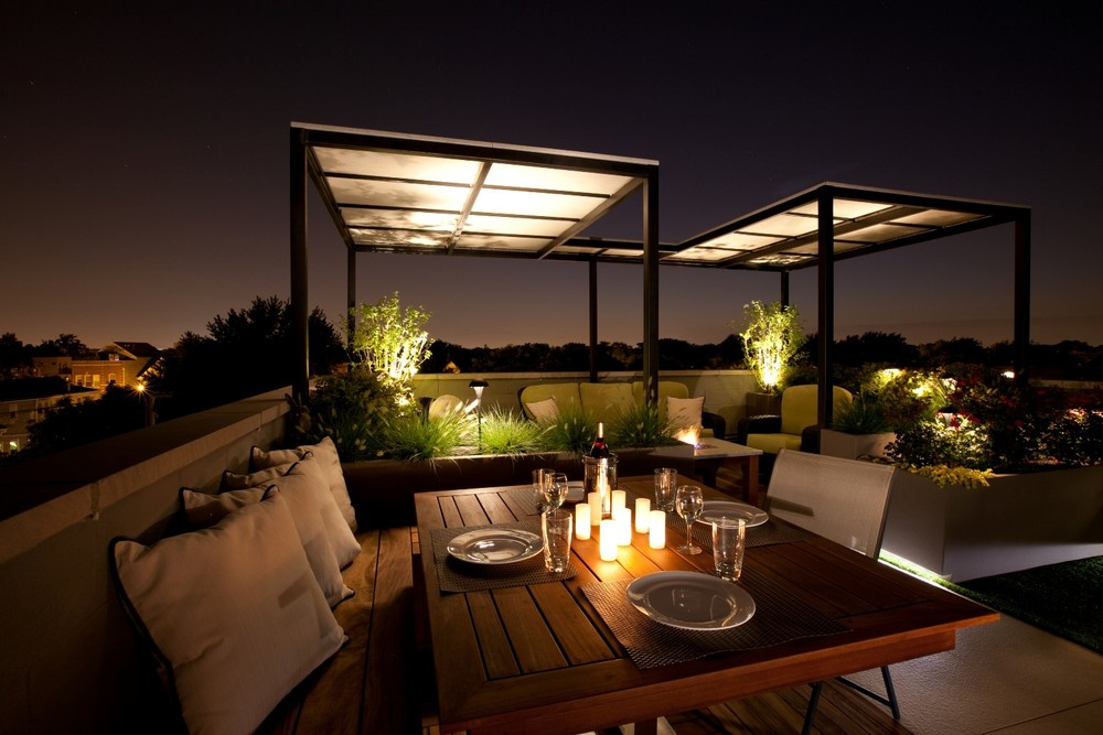 Garden design cambridge brookfield groundcare for Interior design rooftop terrace