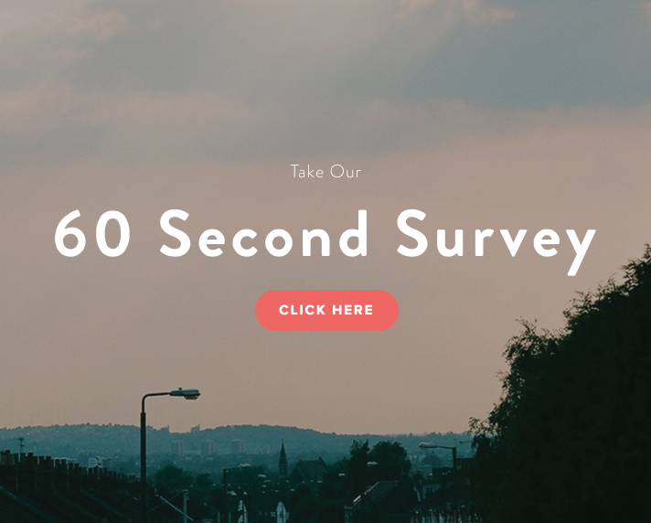 Take our 60 Second Survey  Live in Eltham and got a spare 60 Seconds? Tell us about your community in our super quick survey...   Complete the survey →