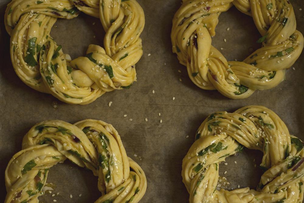 Garlic Naan-rolls