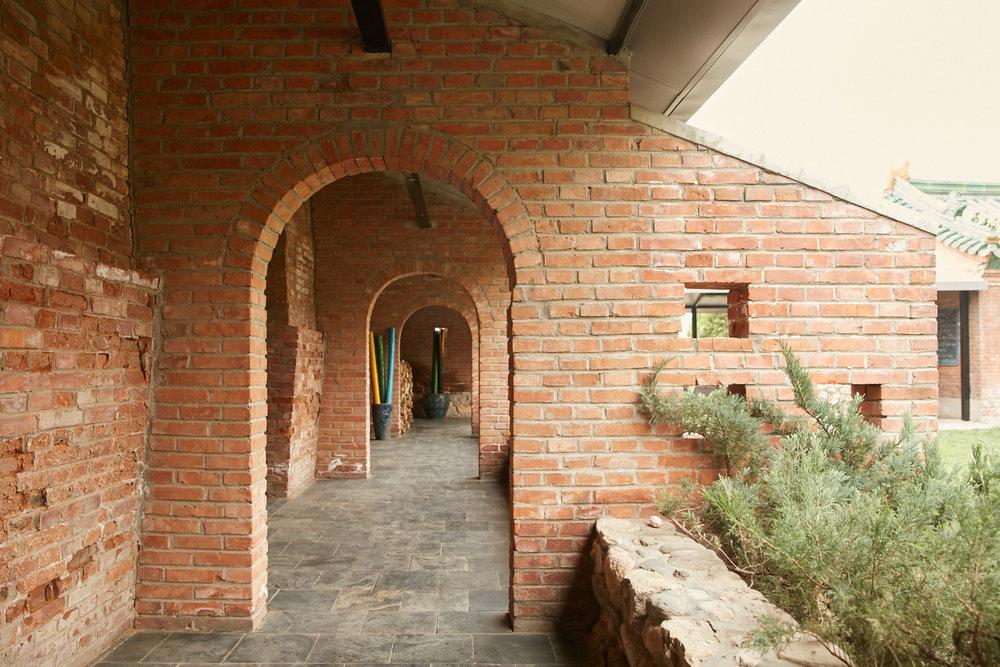 Hiding BehindThe Brick -
