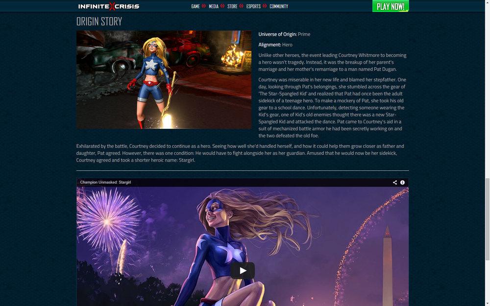 Champion Unmasked: Stargirl