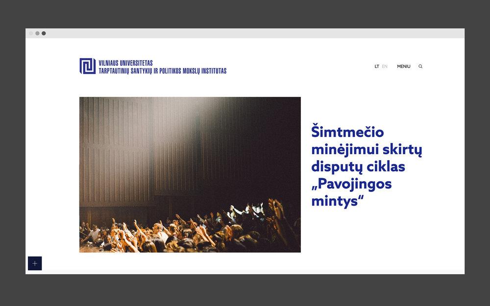 TSPMI –– Website & Logotype