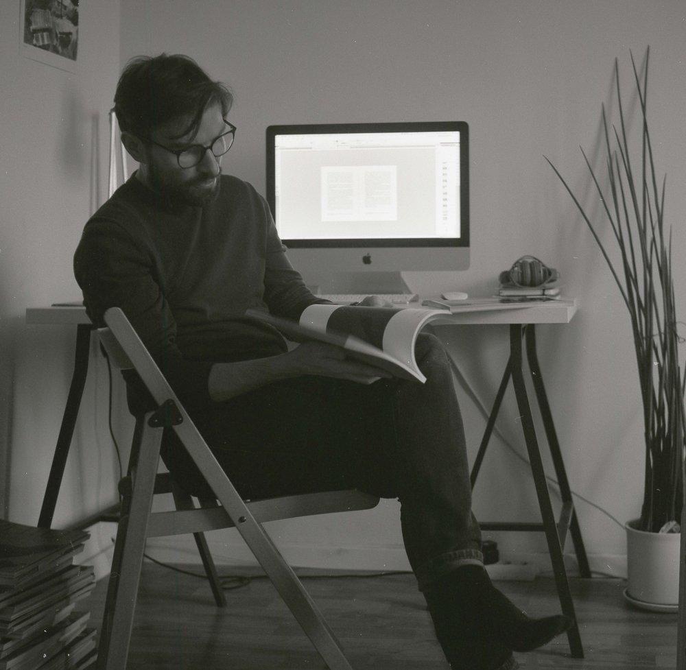On typographyand peculiarities of life - Interview: Tadas Karpavičius