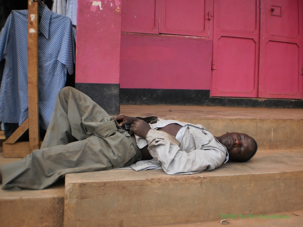 Older boys feel safe to sleep on the streets, but can be beaten or arrested by police when they do so. Many are drug affected - mostly by cheap inhalants such as petrol.