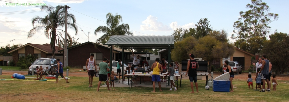 THREE, MDAS and United run school holiday activities and BBQs for children and families in disadvantaged communities.
