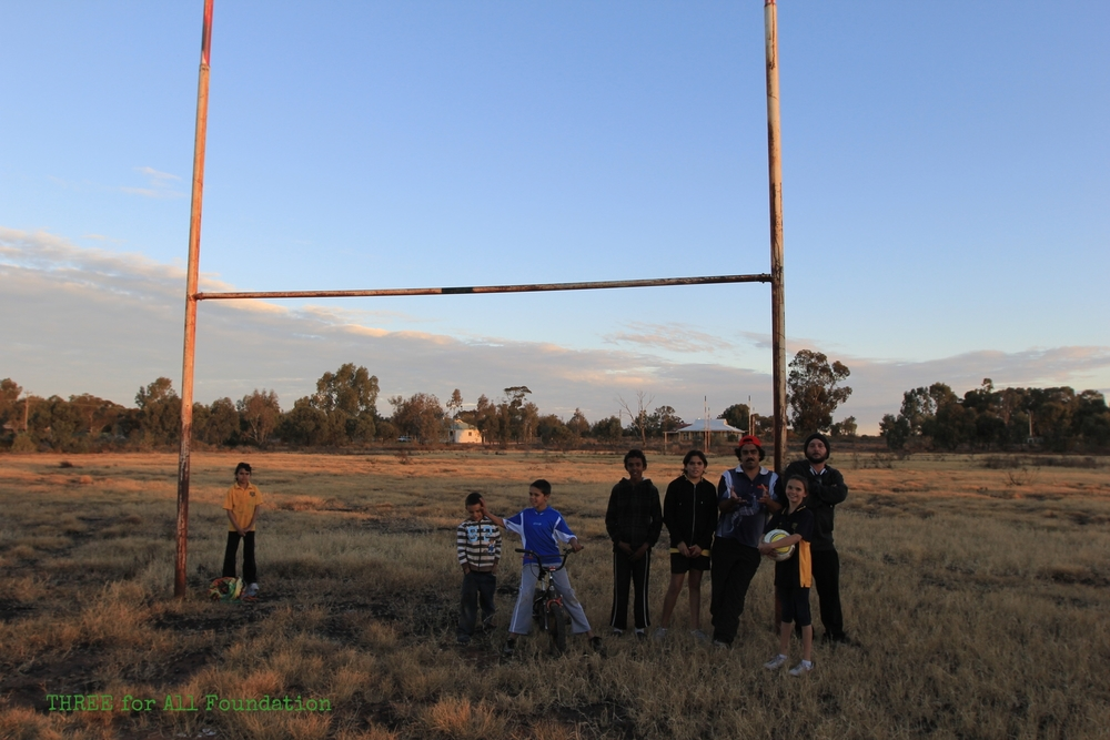 United supports young people from isolated Aboriginal communities outside of Mildura to play soccer and to join our other activities.