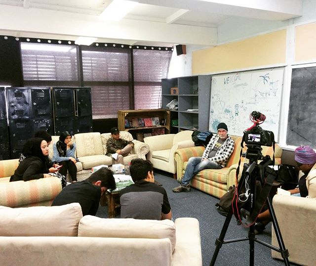 Young people from Mildura discussing their refugee experiences for our Youth Voices digital storytelling project. Lots to come about this project, so stay tuned!  #threeforallfoundation #youthvoices #smecc #digitalstorytelling #powerfulyouth #mildura