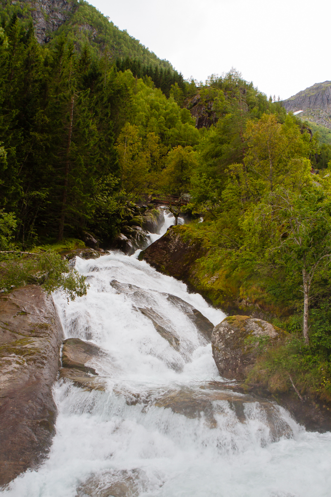 No problem finding a shower in Norway's campsites