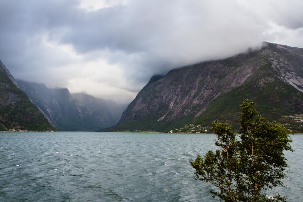 The Hardangerfjorden near Eidfjord