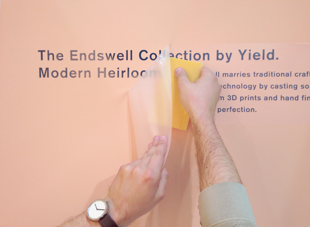 Yield Design Co // Endswell Collection NYNOW 2014