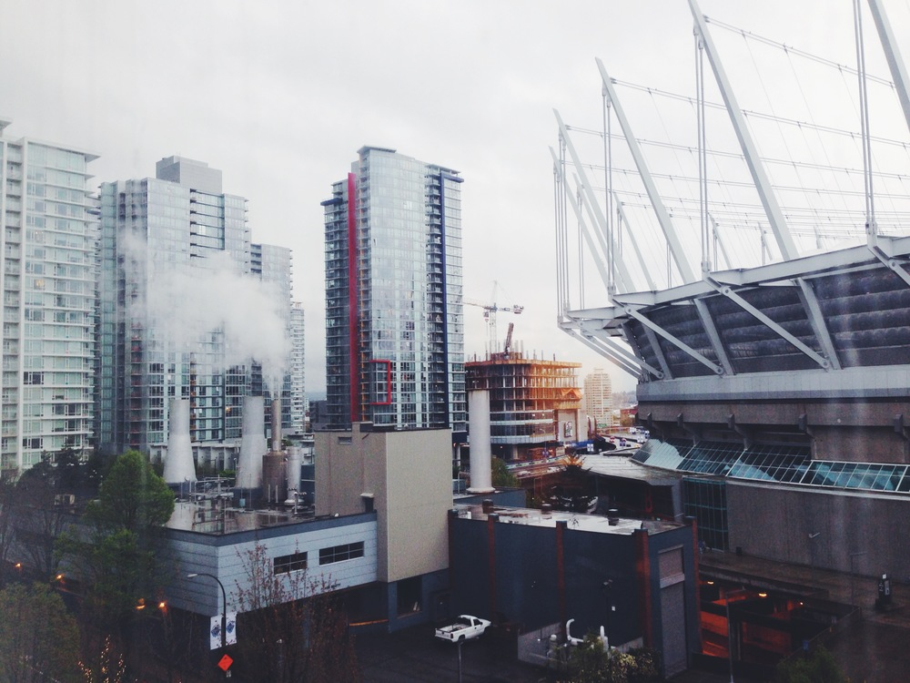 Hotel View Over BC Place