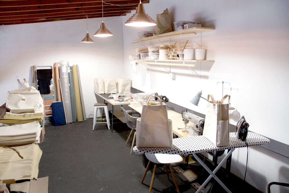 Sewing loft. Photo by Kelsey Heinze