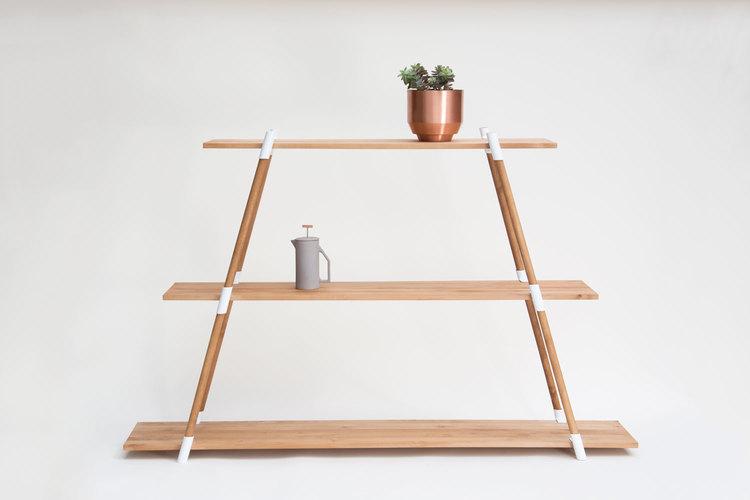 A-frame Shelving Unit - 3 Tier - Floor Model — YIELD