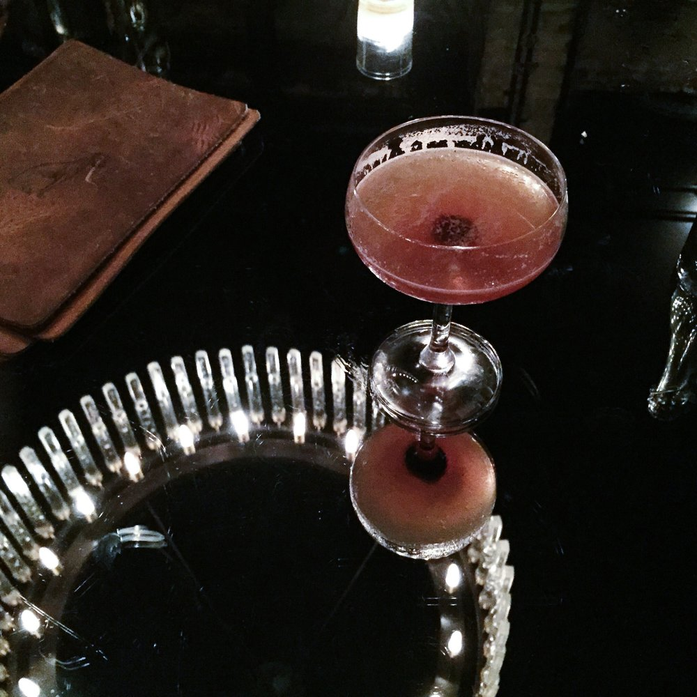 Cocktail at The Grey