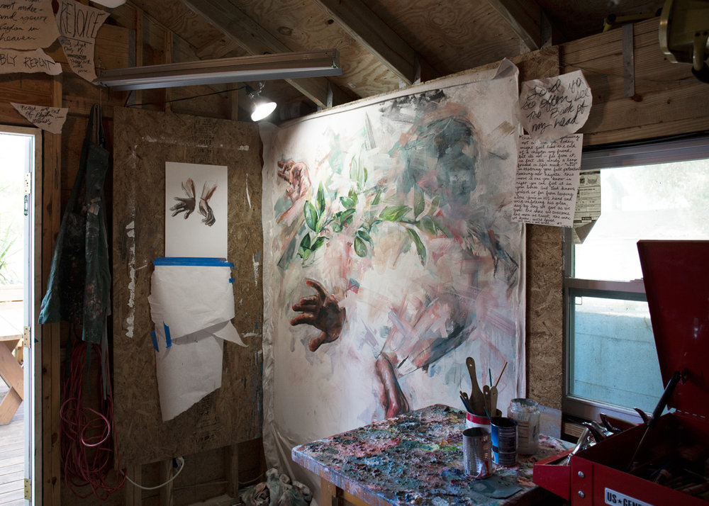 Inside look into Andrew's studio