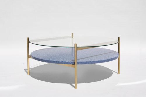 Duotone Circular Coffee Table 36\