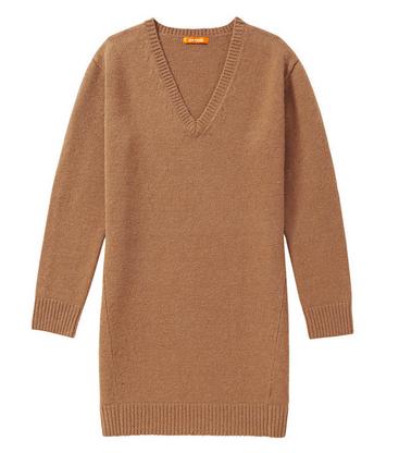 V-neck Sweater Dress, $59