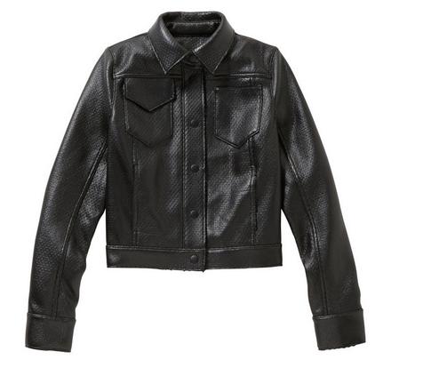 Coated Faux Leather Jacket, $39.94