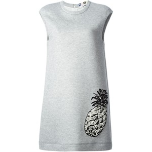 MSMG Pineapple Jersey Dress
