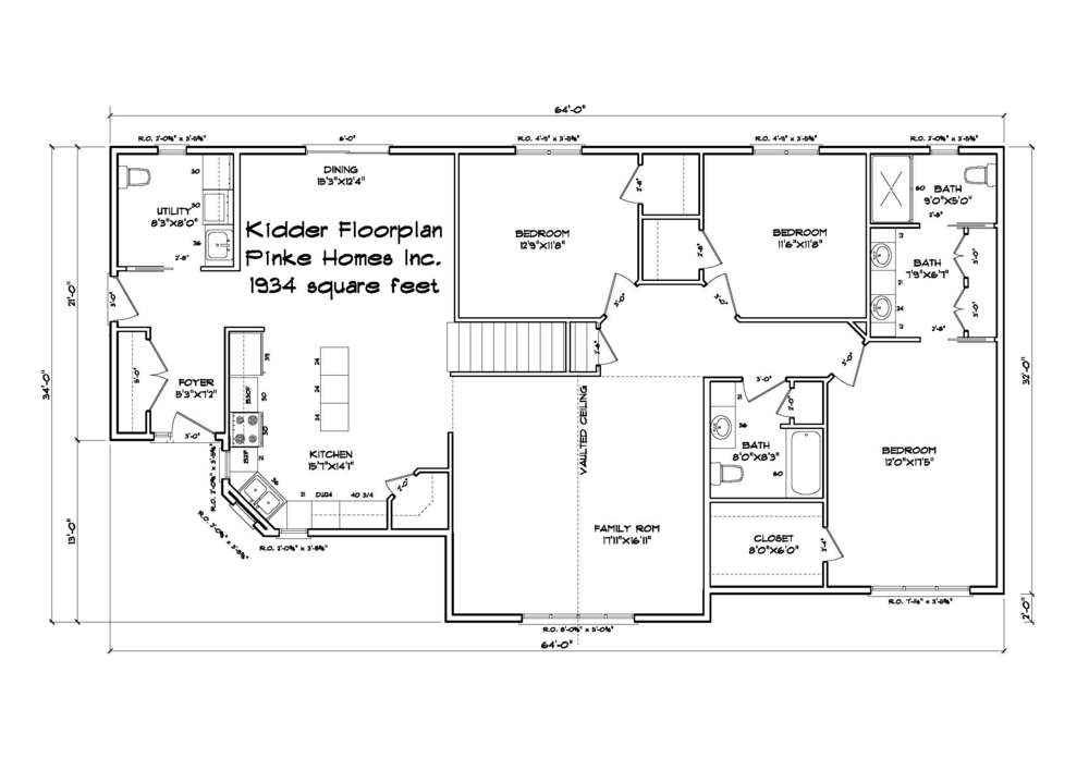 OPEN FLOOR PLAN, 1934 SQ FT HOUSE, 3 BEDROOMS, 2.5 BATH, READY TO MOVE