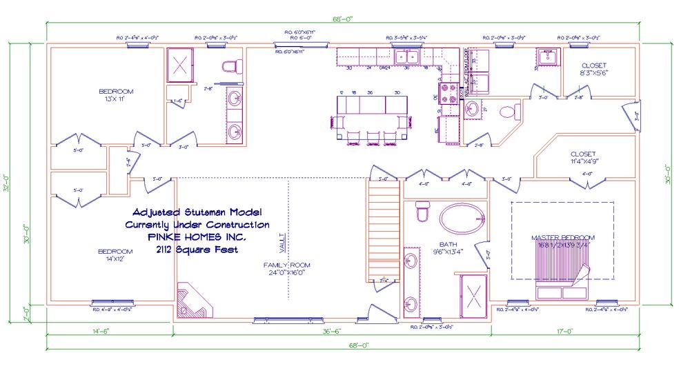 Floorplans Pinke Homes – Floor Plans For Square Homes