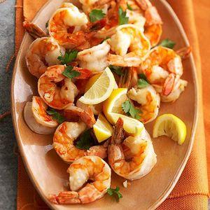 Ph via Pinterest   Lemon Shrimp // Camarones al limón