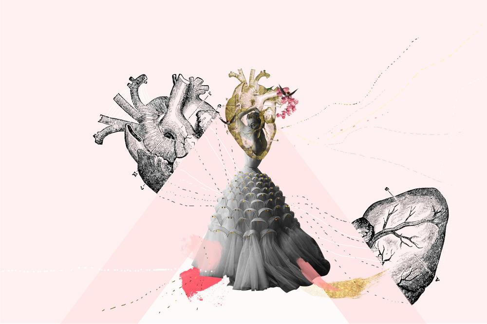 She fixes the broken hearts/ Ella repara los corazones rotos by LITTLE CALPURNIA