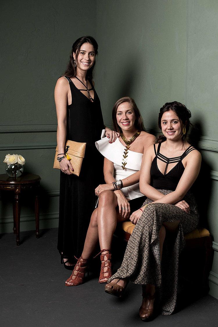Junto a Nina Crump & Carolina Rojas de Atelier Crump