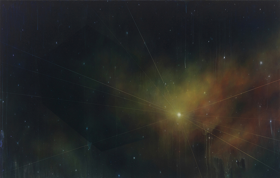 "the sublime, 42"" x 66"", oil on linen, 2012"