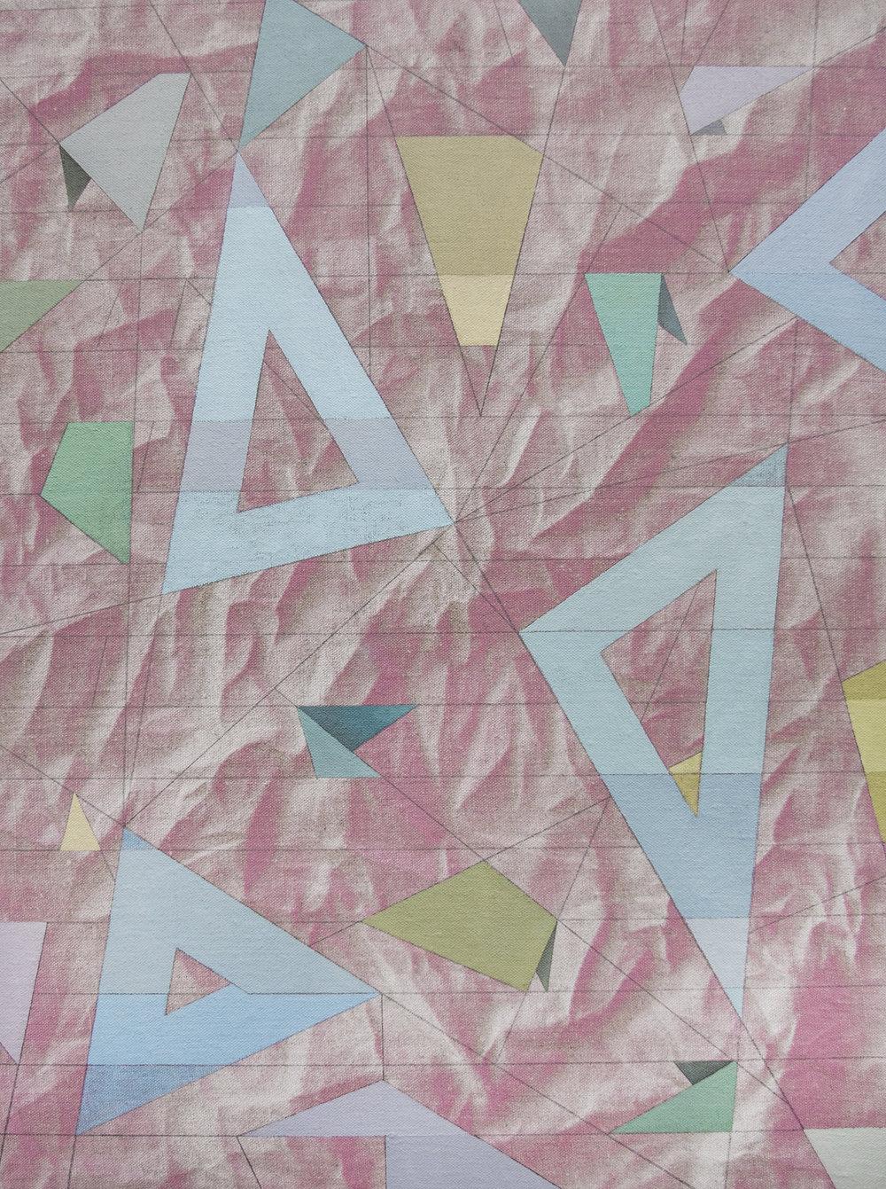 "constellation atlas, 18"" x 24"", oil, wax, acrylic + graphite on linen, 2016"