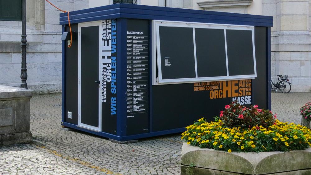 Container Beschriftung