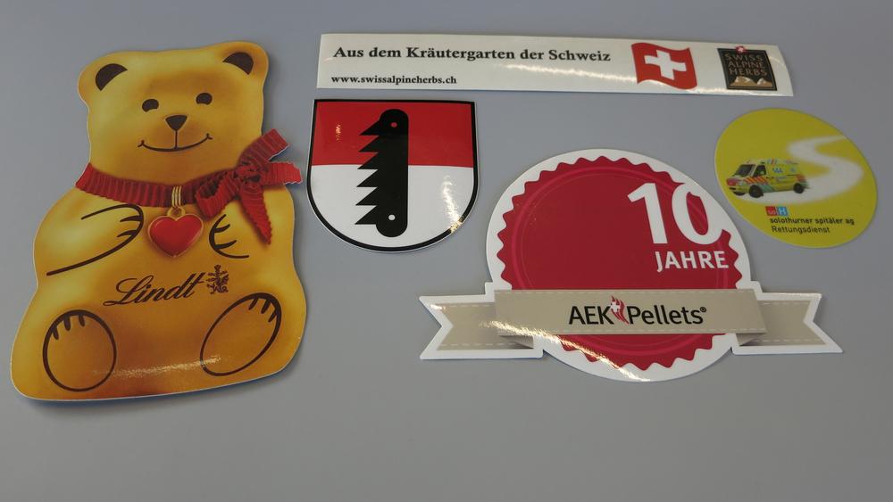 Aufkleber, Sticker, Abziehbilder