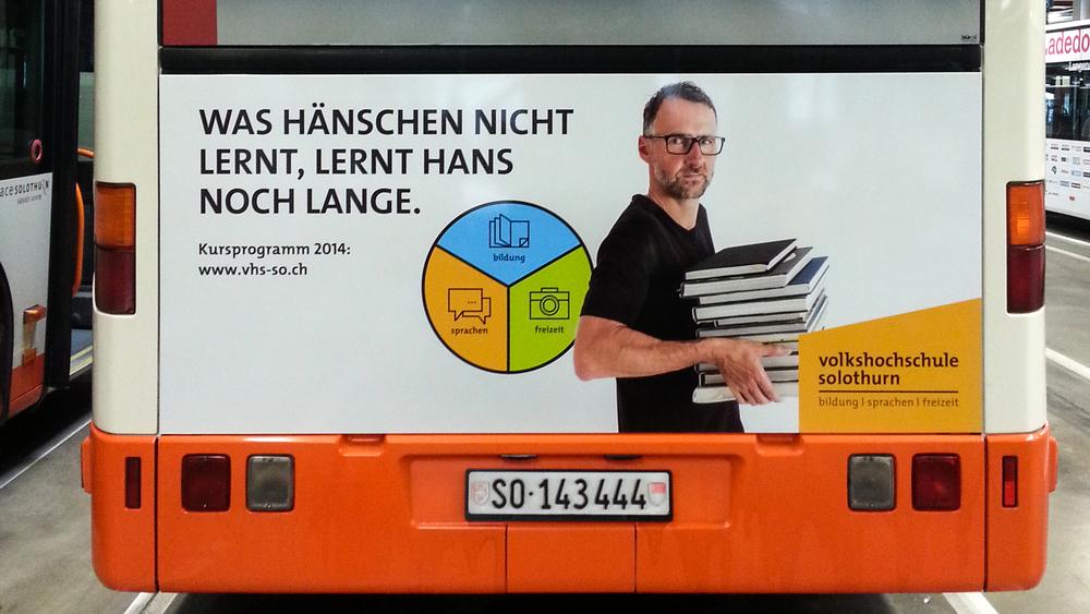 BSU Busheck Werbung
