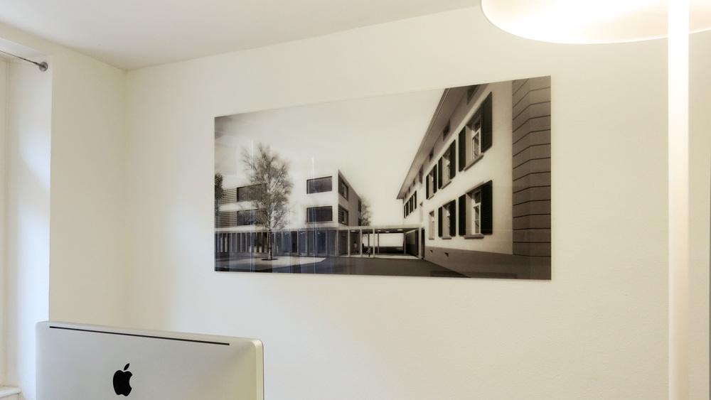 Acrylglas Bilder für Architekturbüro