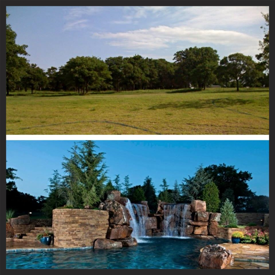 Before & After - Hefner Estate