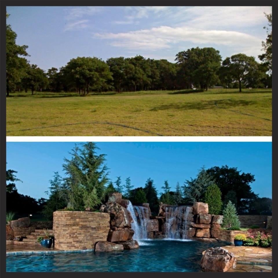 Before & After - Hefner Estate
