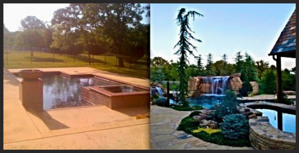 Before & After - Edgewater Estate II