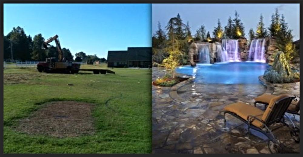 Before & After - Richland Estate