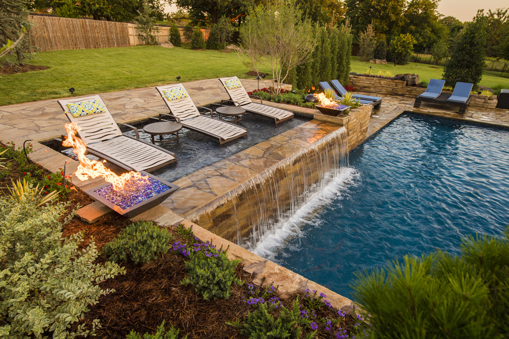 Edmond Geometric Modern Pool