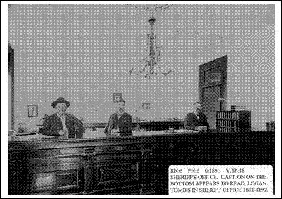 Sheriff's Office, circa 1880