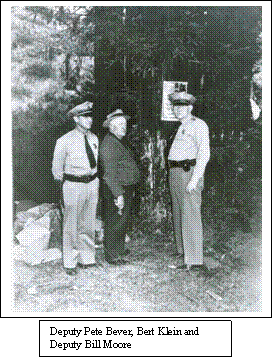 Sonoma County Sheriff Deputies, Circa 1940.