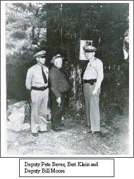 Sonoma County Sheriff Deputies, Circa 1940.