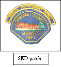 Special Enforcement Detail Team Patch