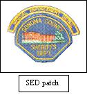 Special Enforcement Detail Team Patch