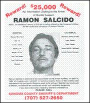 Wanted Poster, Ramon Salcido, 1989