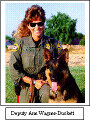 First Femaile K9 Handler