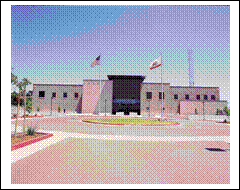 Sonoma County Sheriff's Office, Front View of New Building, 2002