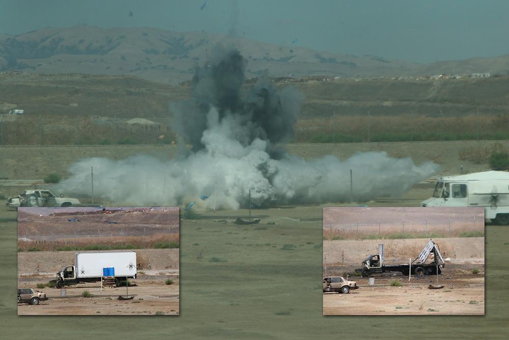 SCSO Bomb Unit demonstration.