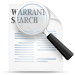 Warrant Search Icon