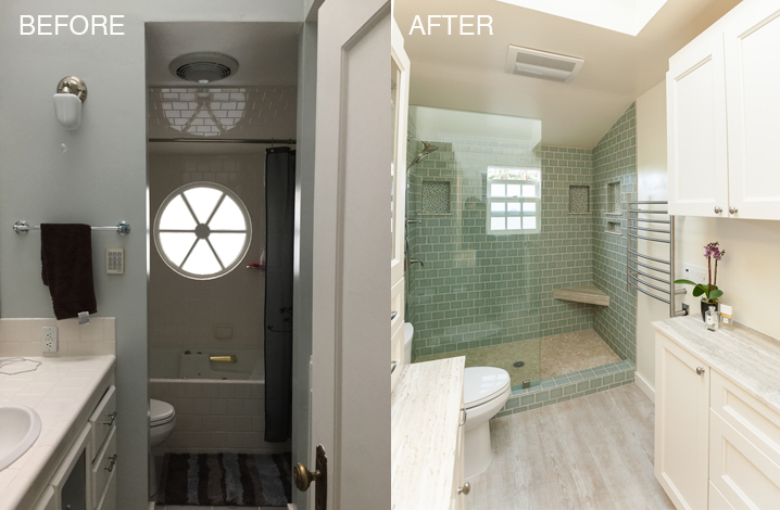 Just because your master bathroom is small doesn't mean it needs to be  cramped, dark, or just kind of lame. This bathroom is on the small side and  needed ...